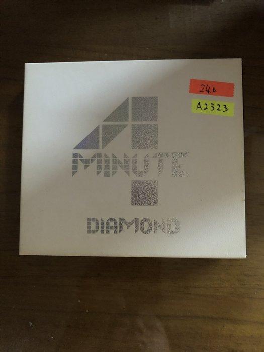 *還有唱片二館*4 MINUTE / DIAMOND CD+DVD 二手 A2323 (下標幫結)