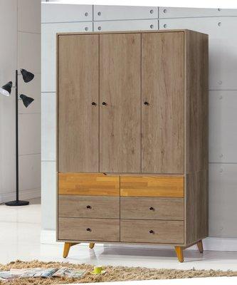 【南洋風休閒傢俱】精選時尚衣櫥 衣櫃 置物櫃 拉門櫃 造型櫃設計櫃-艾倫4*7尺衣櫃 CY159-661