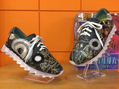 【阿典鞋店】**男鞋**Macanna**麥坎納專櫃~美迪亞系列5~甜甜圈2代~全特殊黃牛皮手工製鞋面氣墊鞋420280