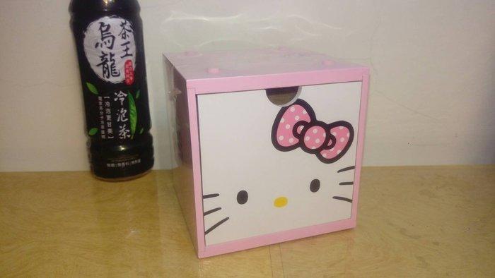 ///可愛娃娃///~正版可愛的KITTY彩色積木盒~收納盒~置物盒~飾品盒~小抽屜色(粉)---約13公分