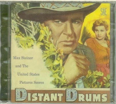 """遙遠的鼓聲 2CD, Distant Drums""- Max Steiner,全新美版20"
