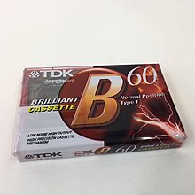 TDK錄音帶-B60