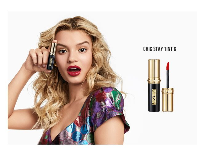 韓國代購☆TONY MOLYxMOSCHINO彩妝聯名系列 光澤款水潤唇釉 4g 高顯色