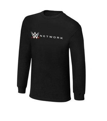 ☆阿Su倉庫☆WWE摔角 WWE Network Long Sleeve T-Shirt 電視網長袖款 熱賣特價中