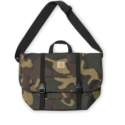 日本代購 Carhartt WIP FW18 Parcel Bag 迷彩 黑 棕 三色 側背包(Mona)