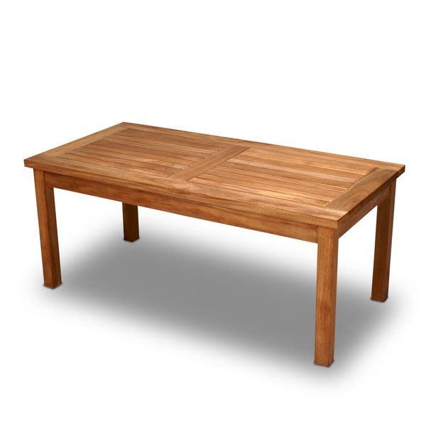 Brother~兄弟牌西雅圖單層咖啡桌~印尼柚木製造美觀實用~庭園休閒必備!!南洋休閑風情~