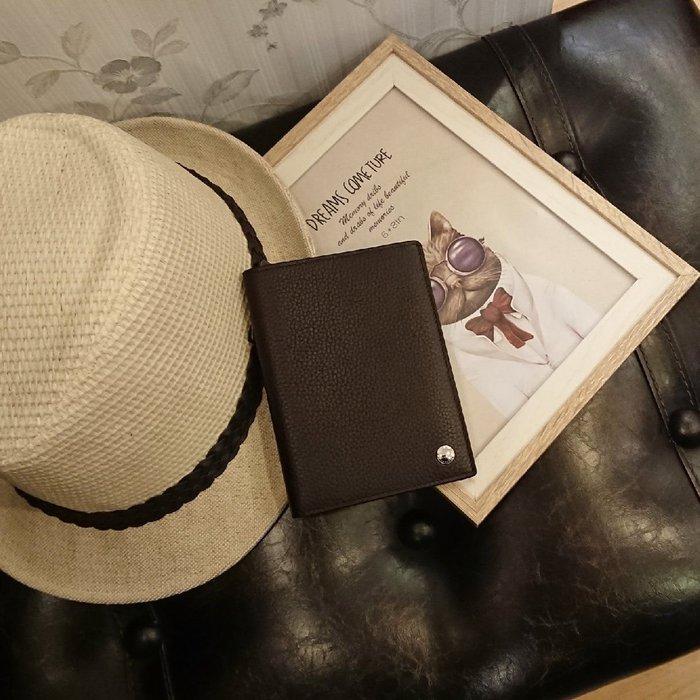 dunhill經典小牛皮護照夾