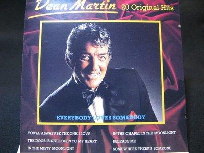 [好東西 CD]  Dean Martin 狄恩馬汀 酷味之王 20 Original Hits Everybody Loves Somebody 保存良好