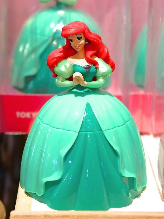 Ariel's Wish預購-日本東京迪士尼Disney愛麗兒小美人魚Ariel桌上擺飾品收納盒灰塵刷雞毛撣子除塵刷子