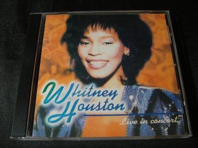 【198樂坊】Whitney Houston Live in Concert(Revelation....日版)BP