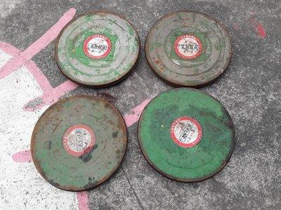省錢二手拍賣─早期 電影底片鐵盒,4個一起出售。