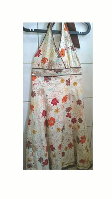 FASHION SHOW流行秀 繞頸綁帶連身洋裝(買3送1)