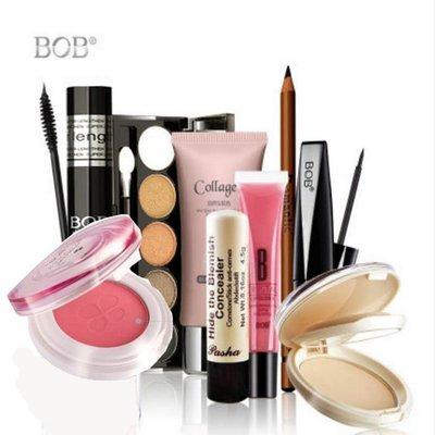 【優上精品】韓國BOB彩妝套裝全套組合9件套初學者美淡裸妝化妝品職業眉筆新手(Z-P3187)