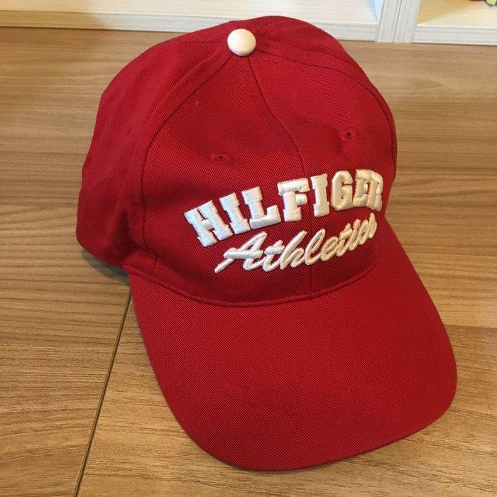 Hilfiger Athletics 棒球帽 立體刺繡Logo 純棉*帽圍58 (可調大小)