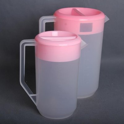 雨晴嚴選 007冷水壺 涼水壺 塑膠盛水壺 帶刻度 量杯2400 4000MLYQ565