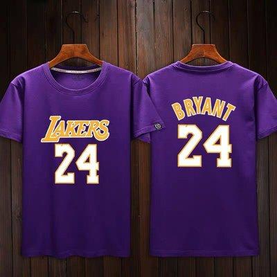 💖黑曼巴Kobe Bryant科比短袖棉T恤上衣💖NBA湖人隊Adidas愛迪達運動籃球衣服T-shirt男女993