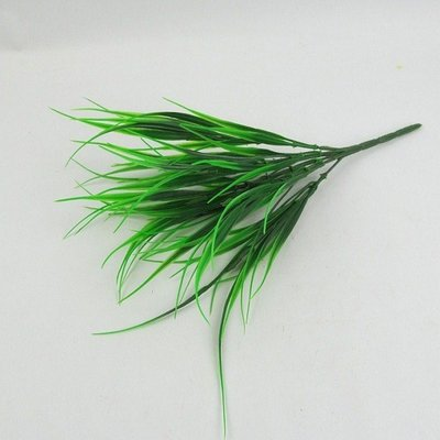 高仿花沖磚假草 塑料草 春草 米藍草 仿真植物裝飾花插花配草幸運草