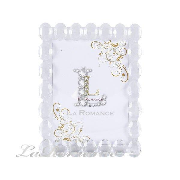 【芮洛蔓 La Romance】璀璨水晶 - 水晶相框 (小) / 相本 / 照片 / 紀念日 / 結婚禮物