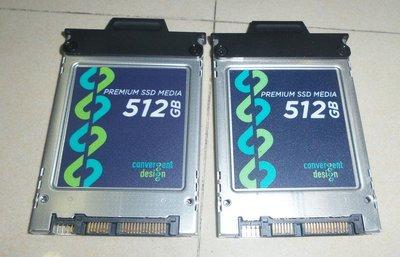 Convergent Design 1TB 512GB*2 Premium SSD Odyssey 7Q 7Q+