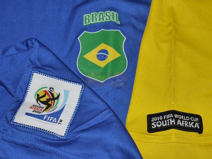 貳拾肆棒球-2010 FIFA 南非世界盃足球賽巴西代表練習衣 VISA贊助