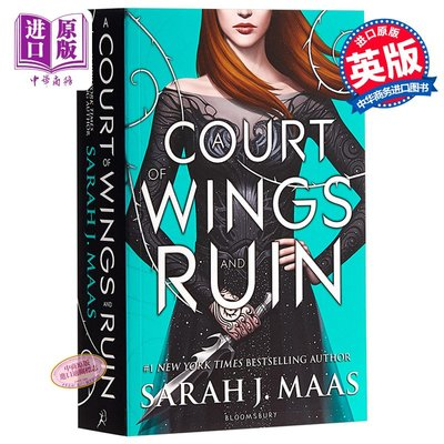 A Court of Wings and Ruin 英文原版 風與厄運的法庭 Sarah J Maas 奇幻小說