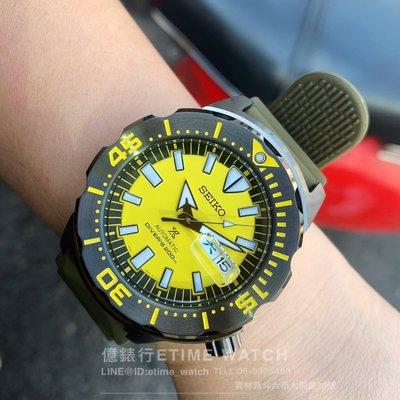 SEIKO PROSPEX MONSTER特別版 潛水錶 SRPF35K1/4R36-08B0Y 公司貨