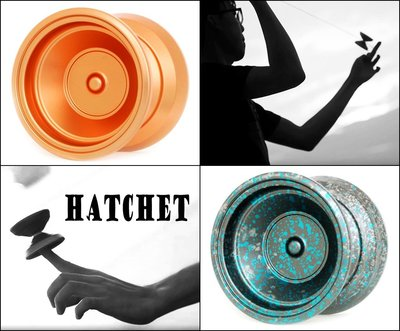 奇妙的溜溜球世界 YoYofficer Hatchet 絕佳的重量分配 靈活的操控性 舒適的握感 新經典的誕生 專家推薦