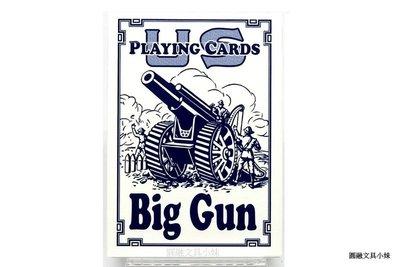 【圓融文具小妹】Bicycle 桌遊 撲克牌 808 BIG GUN blue playing cards 藍色