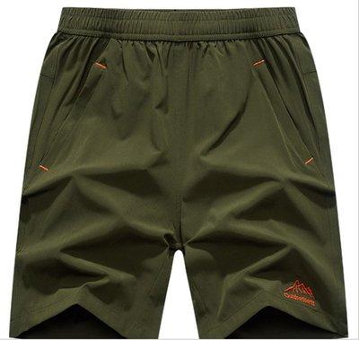 時尚服飾 L-9XL 加大碼夏季男士速幹運動褲男女款彈力褲五分休閑短褲沙灘褲