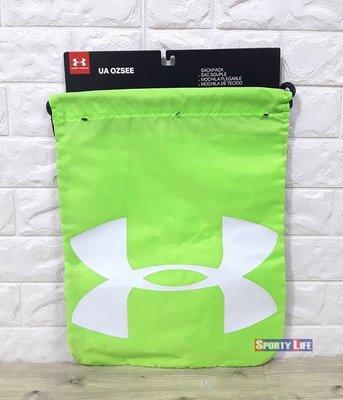 【SL美日購】Under Armour OZSEE SACKPACK 束口袋 後背包 螢光綠 UA束口袋 後背袋