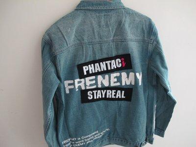 { 自以為公仔 } PHANTACi 周杰倫 STAYREAL 阿信 FRENEMY DENIM JACKET 牛仔外套
