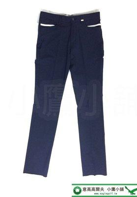 [小鷹小舖] adidas adipure Pants Mans CW4747 阿迪達斯 高爾夫 長褲 深藍 涼感輕薄