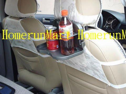 CA汽車可折疊飲料架後座飲料架飲料座托盤 車用椅背飲料架餐桌架椅背餐台餐盤椅背置物架