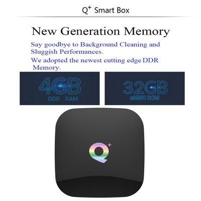 QPLUS全志H6安卓9.0 Wifi高清網絡電視機頂盒6K TV BOX Q+ plus (20899)