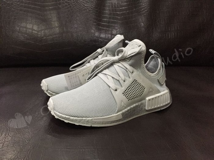 the latest b147d 20840 adidas NMD XR1 Triple Grey BOOST 銀灰 編織 限量 BY9923-Yahoo奇摩拍賣