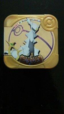 日本正版 神奇寶貝Pokemon  Tretta   金卡 阿爾宙斯