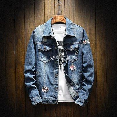 DS_08網紅時尚新款外衣外套牛仔夾克 men's jacket denim jackets coat 男