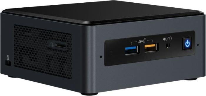 【易霖-十代】全新十代 Intel NUC BXNUC10I3FNH(i3-10110U) 8GB+500GB SSD