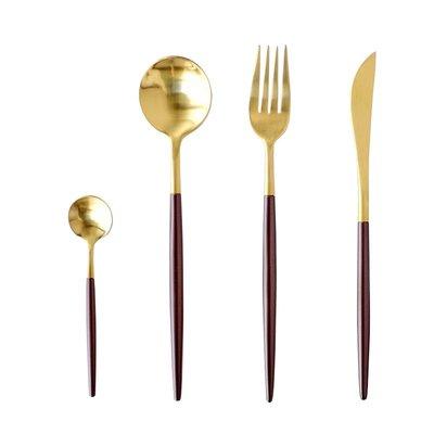 聚吉小屋 #熱賣#LEON系列西餐餐具牛排刀叉勺高顏值西餐具不銹鋼秀美食拍攝道具(價格不同 請諮詢後再下標)