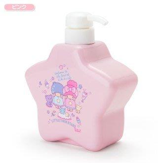4165本通 星型乳液擠壓瓶-TS 雙子星 甜蜜沐浴 粉 4901610568743