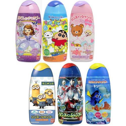【JPGO日本購】日本製 溫和配方洗髮精 兒童專用150ml 多款圖案包裝