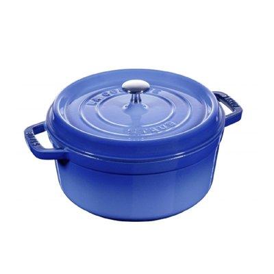 法國 Staub 24公分 圓鍋 鑄鐵...