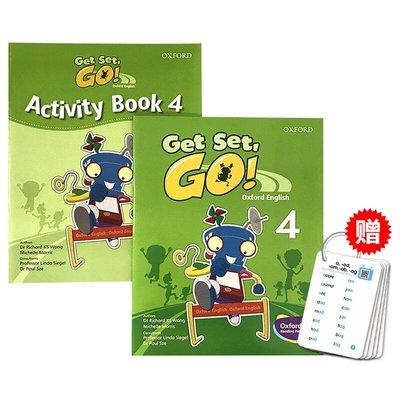 收納用品 華研原版 牛津幼兒英語啟蒙教材 Get Set Go 4級別 學生用書練習冊 英文原版 3-6歲幼兒園小班TPR教學@16257