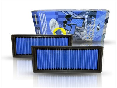 ☆光速改裝精品☆SIMOTA 高流量空氣濾芯 BENZ CLS280 CLS350 專用 兩片式 直購2500元