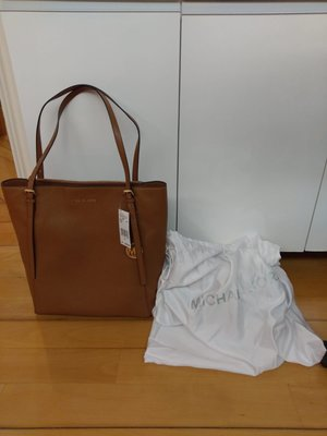 100%新 有單 全真皮 MICHAEL KORS 2019年新款 Megan Large Pebbled Leather Tote Bag