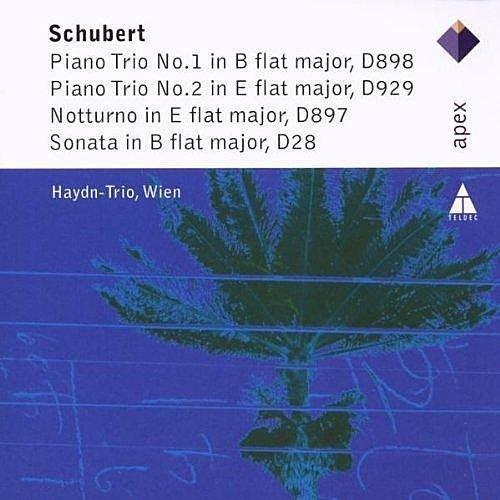 舒伯特:鋼琴三重奏名作集 / 維也納海頓鋼琴三重奏 ----- 2564690462