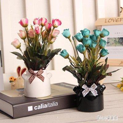 假花裝飾擺件 家居裝飾擺件桌面雜物小物件擺放假花花卉盆栽 nm10473