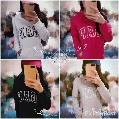 *現貨在台* GAP Women Arch logo hoodie 女款基本款 LOGO長袖棉質 帽T 外套 五色