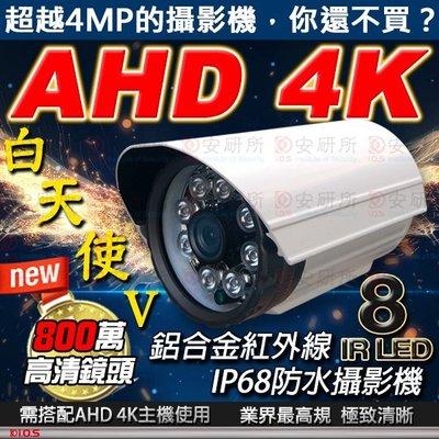 【安研所監控監視】AHD 4K 800...