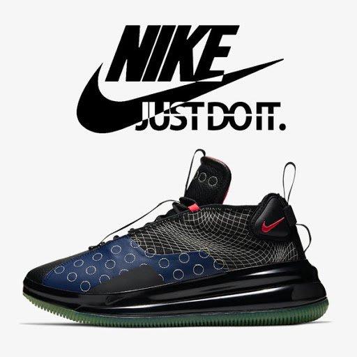 限時特價南◇2020 7月 Nike Air Max 720 Waves Bq4430-400大氣墊 藍色黑色 休閒格紋